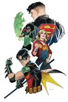 Young Justice #4 (Mora Variant)