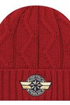 Captain Marvel Cable Knit Cuff Beanie