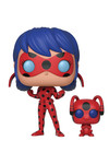 Pop & Buddy: Miraculous - Ladybug with Tikki Vinyl Figure