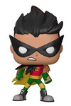 Pop Television: Teen Titans Go The Night Begins To Shine - Robin Vinyl Figure