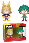 Vynl My Hero Academia 2 pack - All Might & Deku