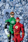 Flash Green Lantern Brave & the Bold Deluxe Ed HC