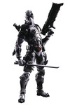 Marvel Universe Variant Play Arts Kai Deadpool Action Figure (X-Force Variant)