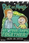 Rick and Morty Get It Together Patch