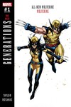 Generations Wolverine & All-New Wolverine #1 (Coipel Variant)