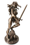 Red Sonja Amanda Conner Statue Broze Ltd Ed