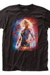 Marvel Captain Marvel Poster T-Shirt XXL