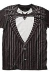 Nightmare Before Christmas Jack Skellington T-Shirt XXL