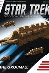 Star Trek Starships Figure Coll Mag #157 the Groumall