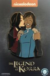 Legend of Korra Limited Edition Korrasami Kiss Pin