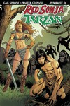 Red Sonja Tarzan #1 (Cover D - Geovani)