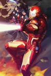 Tony Stark Iron Man #12 (Nexon Marvel Battle Lines Variant)