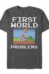 Super Mario First World Problems T-Shirt MED