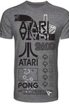Atari Black and White Screen Print T-Shirt LG