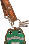 Naruto Frog Purse Leather Keychain