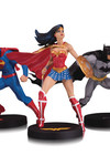 DC Designer Series Jim Lee Collector 3 Pack Statue Set
