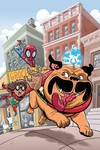 Marvel Super Hero Adventures Ms Marvel Teleporting Dog #1
