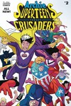 Archies Superteens vs Crusaders #2 (Cover A -  Williams Connectin)