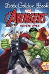 Little Golden Book Avengers Adventures Yr HC