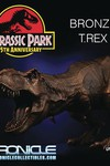 Chronicle Jurassic Park Bronze T-Rex Statue