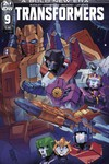 Transformers #9 (Cover A - Miyao)