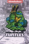 Teenage Mutant Ninja Turtles Comic Crouching Leonardo Pin