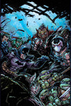 Batman Teenage Mutant Ninja Turtles II #3 (of 6) (Eastman Variant)