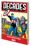 Decades Marvel 50s TPB Captain America Strikes