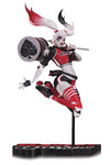 Harley Quinn Red White & Black By Babs Tarr Statue