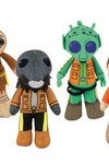 Star Wars Cantina Collectible Plush Scenez 4pc Set