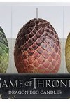 Game of Thrones Sculpted Dragon Egg Candle 3 Set