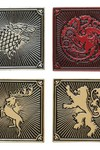 Game of Thrones Houses 4 Piece Lapel Pin Set
