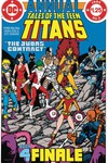 New Teen Titans the Judas Contract Deluxe Ed HC