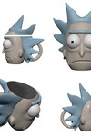 12. Rick and Morty Rick 3d Molded Mug