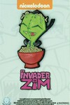 Invader Zim Yummy Noodle With Gir Pin