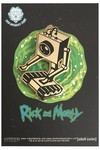 Rick and Morty Golden Butter Bot Pin