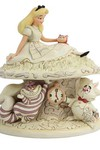 Disney Alice in Wonderland White Woodland Figure