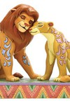 Disney Lion King Simba and Nala 5in Figurine