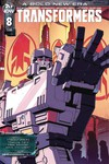 Transformers #8 (Cover B - Coller)