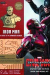 Incredibuilds Civil War Iron Man Deluxe Model W Book