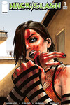 Hack Slash Resurrection #1 (Cover C - Walking Dead #23 Tribute)