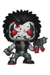 Pop DC Heroes Lobo Previews Exclusive Bloody Vinyl Figure