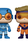 Pop DC Heroes Booster Gold & Blue Beetle Previews Exclusive Vinyl Figures 2-Pack