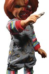 Childs Play Talking Pizza Face Chucky 15in Mega Scale Figure