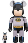 Batman: The Animated Series - Batman 100% & 400% BE@RBRICK 2-pack