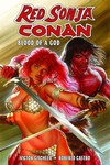 Red Sonja Conan Blood of a God HC