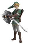 Legend of Zelda Twilight Princess Link Figma Action Figure (Deluxe Version)