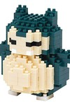 Nanoblock Pokemon Snorlax Block Set