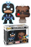 SDCC 2018 Pop Marvel Teleporting Lockjaw & Blackbolt Vinyl Figure 2-Pack