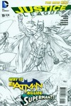 Justice League #19 (Black & White Variant Cover Edition)